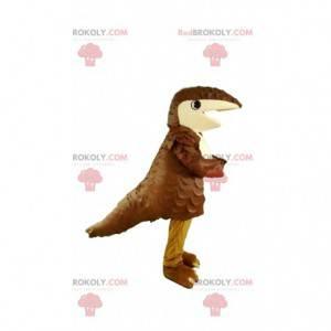 Super morsom brun armadillo maskot. Armadillo kostyme -