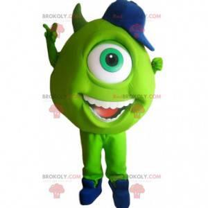 Maskottchen Bob, der kleine grüne Zyklop von Monstres & Cie -