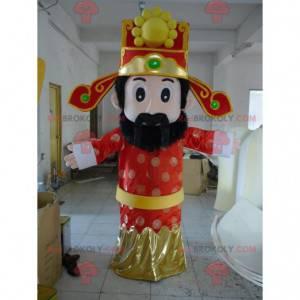 Oriental man sultan king mascot - Redbrokoly.com
