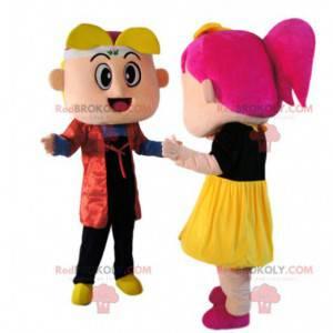 Super zábavné malé maskotové duo - Redbrokoly.com