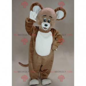 O mascote do rato marrom de Jerry do desenho animado Tom e