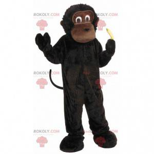 Maskot hnědé opice gorilí šimpanz gorilí - Redbrokoly.com