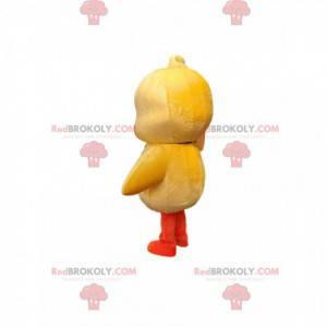 Sehr süßes gelbes Küken Maskottchen. Küken Kostüm -