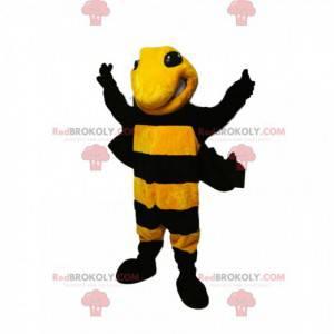 Mascote de vespa agressiva. Fantasia de vespa - Redbrokoly.com