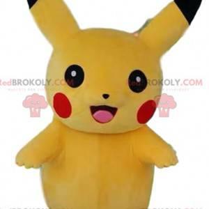 Pikachu-mascotte, het schattige karakter van Pokémon -
