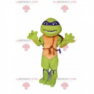 Donatello-Maskottchen - die berühmte Ninja-Schildkröte -