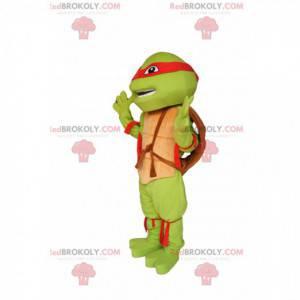 Mascota de Rafael - ¡la fabulosa tortuga Ninja! - Redbrokoly.com
