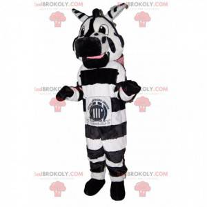 Verbazingwekkende en grappige zebra-mascotte. - Redbrokoly.com