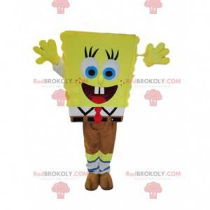 Veselý maskot SpongeBob. Kostým SpongeBob - Redbrokoly.com