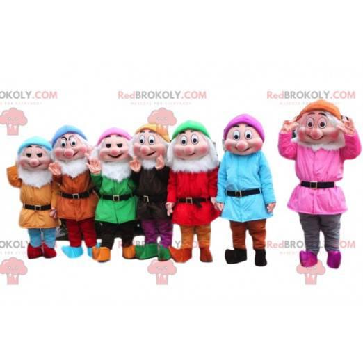 Bande de mascottes des Sept Nains - Redbrokoly.com
