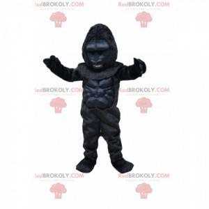 Mascote do gorila feroz. Fantasia de gorila - Redbrokoly.com