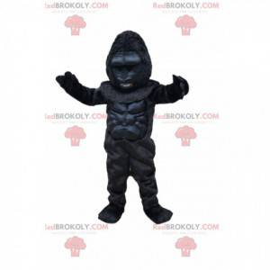 Mascotte gorilla feroce. Costume da gorilla - Redbrokoly.com