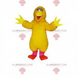 Maskott stor gul kylling veldig glad - Redbrokoly.com