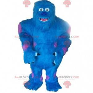 Mascot Sulli, det blå monster fra Monsters, Inc. -