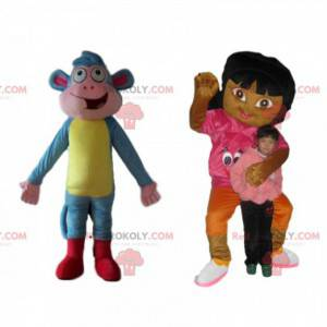 Dúo de mascotas Dora y Shipper, de Dora la Exploradora -