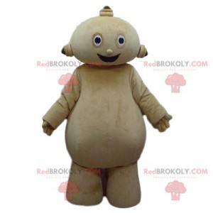 Mascot of little extra-terrestrial cream man - Redbrokoly.com