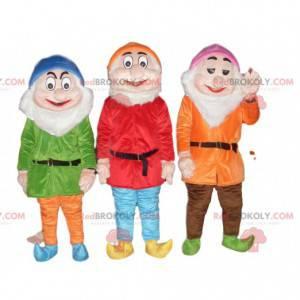 Maskotové trio trpaslíků, Blanche a sedmi trpaslíků -