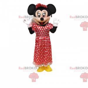 Minnie-mascotte, de lieve en tedere Mickey Mouse -