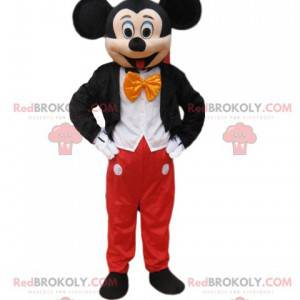 Mickey Mouse-mascotte, de grote en beroemde muis van Walt