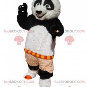 Mascote Po, Kung-Fu Panda. Fantasia de Po - Redbrokoly.com