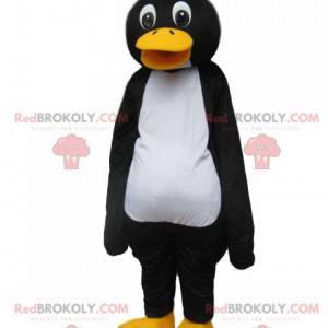 Mascote do pinguim rindo. Fantasia de pinguim - Redbrokoly.com