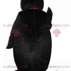 Charmante pinguïnmascotte die naar ons knipoogt - Redbrokoly.com