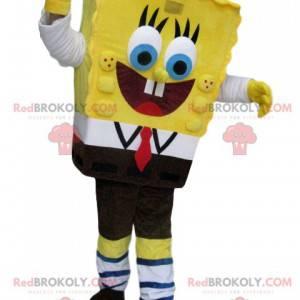 Super happy SpongeBob mascot - Redbrokoly.com
