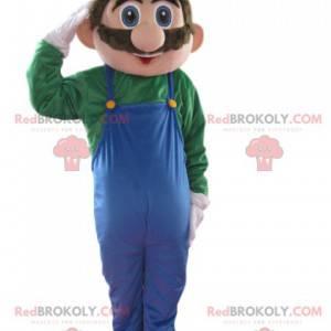 Luigi maskot, fra Nintendo-spillet Mario - Redbrokoly.com