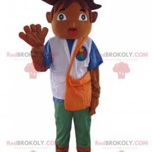Mascot Diego, Dora the Explorer's friend - Redbrokoly.com
