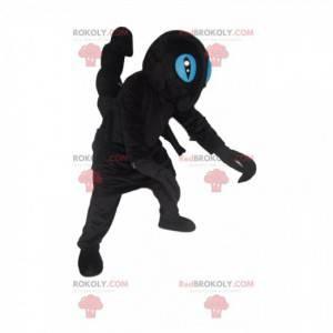 Sort skorpion maskot - Redbrokoly.com