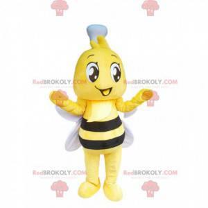 Mascote de abelha fofa - Redbrokoly.com