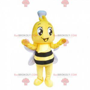 Roztomilá malá včelka maskot - Redbrokoly.com