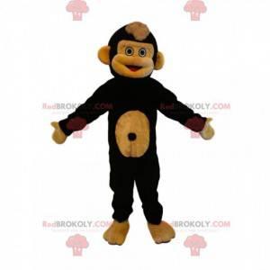 Mascote macaco engraçado e muito fofo - Redbrokoly.com