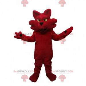 Mascote da raposa vermelha. Fantasia de raposa - Redbrokoly.com