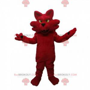 Rød ræv maskot. Fox kostume - Redbrokoly.com