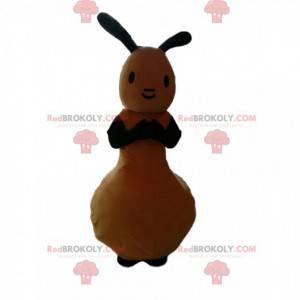 Søt gul kanin maskot - Redbrokoly.com