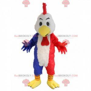 Giant rooster mascot in the colors of France - Redbrokoly.com