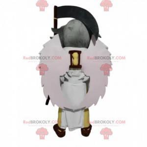 Maskot boha Chronos se smrtkou - Redbrokoly.com