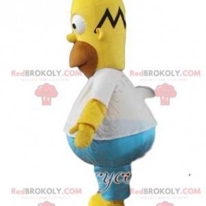 Maskot Omer Simpson. Kostým Omera Simpsona - Redbrokoly.com