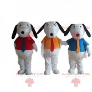 Pluto mascot trio, with shirts - Redbrokoly.com