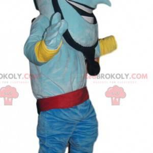 Aladdin Genie maskot. Kostým Aladdin Genie - Redbrokoly.com