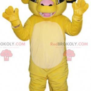 Simba, de mascotte van de Lion King - Redbrokoly.com