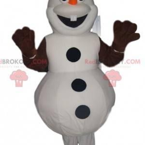 Maskot Olaf, šťastný sněhulák ve Frozen - Redbrokoly.com