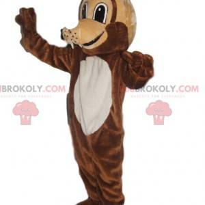 Very smiling wolf mascot - Redbrokoly.com