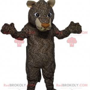 Leopardenmaskottchen mit einem herrlichen Aussehen! -