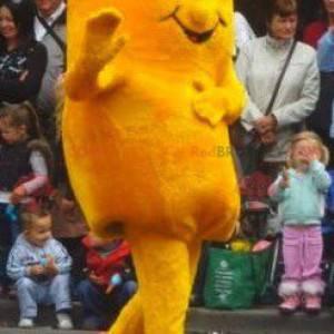 Obří bramborový žlutý sněhulák maskot - Redbrokoly.com