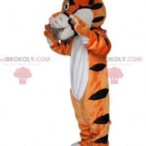 Bardzo zabawna i urocza maskotka tygrysa - Redbrokoly.com