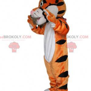 Very playful and cute tiger mascot - Redbrokoly.com