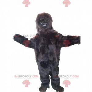 Gorilla-mascotte met een mooie vacht - Redbrokoly.com