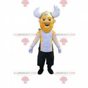 Maskot válečného válečníka s vynikající přilbou - Redbrokoly.com